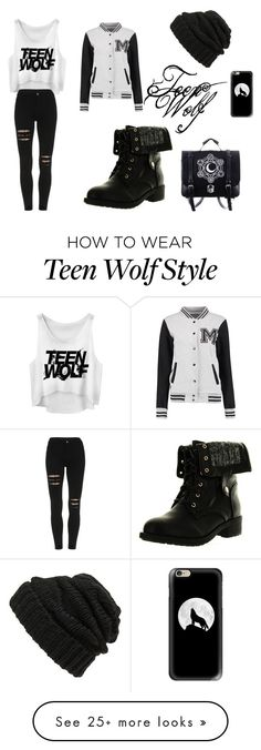"""Teen Wolf Highschool"" by lonelysnowolf on Polyvore featuring Refresh, Casetify and Leith"