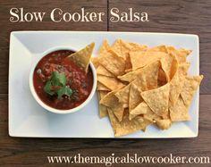 Slow Cooker Salsa