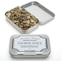 SACRED SPICE BLEND  This tasty, fragrant herbal blend can be enjoyed by itself (delicious!)Sacred Spice contains mullein, cinnamon, c...
