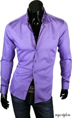 Приталенные мужские рубашки LOUIS FABEL Артикул 3001-48