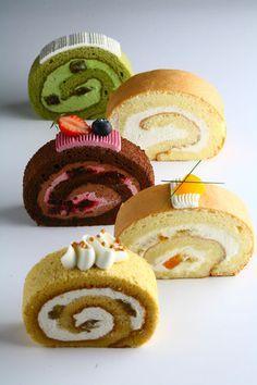 Roll cakes ♥ Dessert
