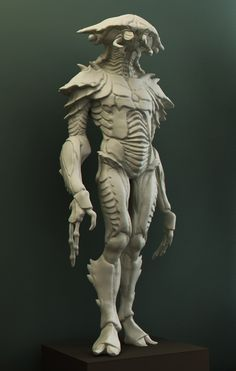 My Zbrush Sketchbook(anatomycal) Genast, really cool alien idea but with a humanoid style to his dsign.