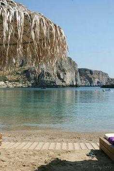 St. Paul's bay, Lindos, Rhodes, Greece