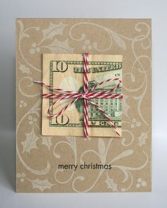 Hi everyone, Popping in real quick to share a card I have in the December/November 2011 issue of Paper Crafts magazine. Merry Christmas, Diy Christmas Cards, Christmas Images, Christmas Crafts, Xmas, Christmas Ideas, Gift Cards Money, Diy Cards, Paper Crafts Magazine