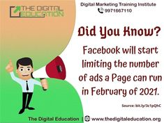 To learn more about #facebookads, Join Us Now. . . #TheDigitalEducation #TDE #Career #DigitalMarketingTraining #DigitalMarketing #DigitalMarketingInstituteInDelhi #GoogleCertified #PPC #PayPerClick #SEM #InternetMarketing #DigitalMarketingTraininginDelhi #OnlineMarketing #OnlineMarketingtraininginDelhi #InternetMarketingTrainingInDelhi #Blog #Analytics #GrowthHacking #InboundMarketing #Emailmarketing #SocialMediaMarketing #SocialMarketing #TrendingTechnology #Delhi #LaxmiNagar #India Marketing Training, Inbound Marketing, Internet Marketing, Online Marketing, Social Media Marketing, Google Facts, Improve Communication Skills, Marketing Institute, Education Center