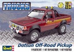 Revell Datsun Off Road Pick up box art