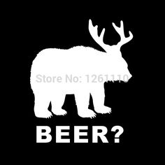 Bear+Deer=Beer?