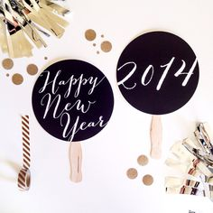 2014 New Years Eve Party Favor. Happy New  Year by LittleRetreats, $14.00