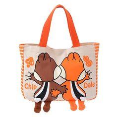 Hanging Chip 'N Dale Tote Bag