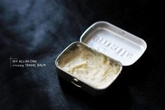DIY butter balm in altoids can- all natural Beauty Care, Diy Beauty, Beauty Hacks, Beauty Tips, Shea Butter, Body Butter, All I Ever Wanted, Homemade Beauty Products, Beauty Recipe