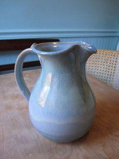 Items similar to Pretty Handmade Ceramic Pitcher on Etsy