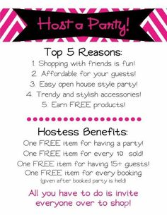 Host a Paparazzi Party