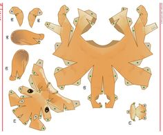 Pomeranian Template  Boxes    Template Paper Toys And