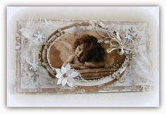 zuzčino SCRAP DECO: kolekce vánočních pozdravů - Nostalgie
