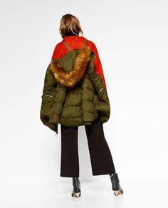 ZARA - WOMAN - COAT WITH INTERIOR STRAPS Zara 2016, Cold Weather Dresses,  Coat 56bd402dc1