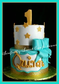 Star Theme Birthday Cake