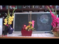 Quick & Easy Flower Arranging With Glads