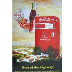 Coca-Cola Drive Refreshed #design #vintage #retro #coke #beauty