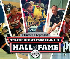Five new members in the Floorball Hall of Fame. #wfc2012 #ibvm12 #innebandy #floorball