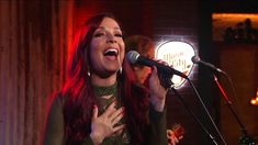 Danielle Lauderdale performs Fool's Gold on the Music City Light Stage during Today in Nashville airing weekdays at on WSMV-TV and streaming live on the. Fool Gold, On Today, Nashville, Concert, Awesome, Music, Musica, Musik, Recital