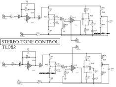 Stereo Tone Control Circuit Diagram
