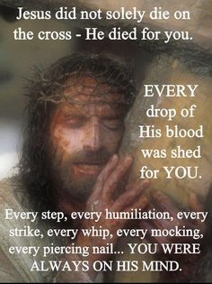 ~ Jesus Loves You ~ If only people could grasp the absolute truth in this, HOw could You EVER not serve Him?