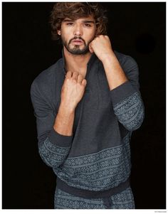 Marlon Teixeira Models Intimissimi 2014 Underwear + Loungewear image Marlon Teixeira Intimissimi Winter 2014 Look Book
