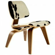 Cow Hide Print Eames Chair