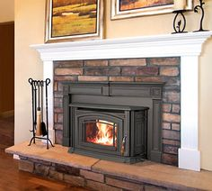 44 great wood burning fireplace inserts images fireplace design rh pinterest com  how to install a wood burning fireplace insert