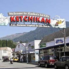 Ketchikan, Alaska. The salmon capital of the world also has the world's largest collection of totem poles.