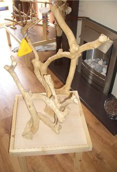 How To Make A CHEAP Parrot Playgym And Java Tree
