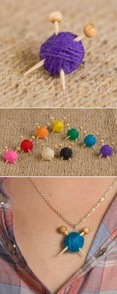 Max Alexander Knit Love   Cuteness Alert necklace Maxs world knitted jewellery  jewellery inspiration found and beautiful
