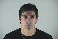 """Actor Matthew Fox posed for the above mug shot in June 2012 after pleading no contest to an Oregon DUI charge. The """"Lost"""" star, 45, was pulled over in Bend after police allegedly saw his vehicle fail to stay in its lane or use an appropriate signal. Since the mug shot camera was not working at the time of his May arrest, Fox later returned to the Deschutes County Adult Jail to have the booking photo taken."""