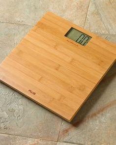Bamboo Digital Bathroom Scale