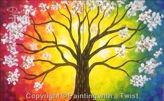 Love Blossoms  Couples  #PWAT  #PaintingWithATwist  Painting With A Twist