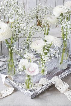 Lovely white table via Shuttershock