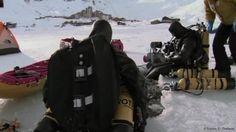 Ils sont jeunes, passionnés, enthousiastes. Le programme : plongée sous-marine sous la banquise arctique, du pôle nord au Canada,. Ghislain Bardout et ses co-équipiers étaient à Tignes, pour plonger sous la glace, peaufiner les détails, valider le matériel, régler le matériel de tournage avant leur expédition pour le grand froid..