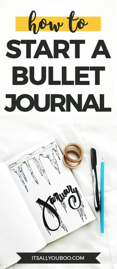 Want to start a bullet journal, but don't know how? Click here for your beginner's guide to bullet journaling, with ideas for pages, pens, journals and everything you need to get started with your first bullet journal. #journaladdict #journaling #journal #journallove #quotes #quoteoftheday #quotestoliveby #quotestagram #quotesdaily #quotestoremember #inspirationalquotesandsayings #inspirationalwords #quotestoinspire #qotd