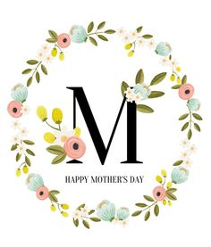 Source: thepaintedarrow.com 4. Happy Mother's Day I love this printable. I mean, could it be anymore beautiful? The flowers, the colors, the monogram, the simplicity…it all creates the perfect printable for Mother's Day. I can't wait to hang this one up in my home. If you like this printable, you'll love all the others you canContinue Reading...