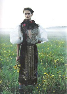 Carmen Kass photographed by Yelena Yemchuk for Vogue Nippon October 2005