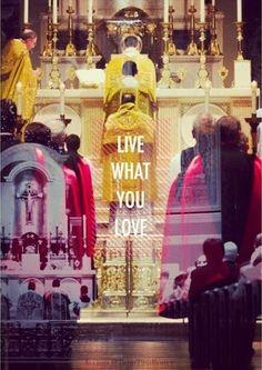 Totus Tuus Family & Catholic Homeschool: Sunday Silence - Live What You Love