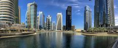 Such a great place to walk for a lunch! Top Place, Marina Bay Sands, Great Places, New York Skyline, Dubai, Tower, Lunch, Building, Travel
