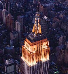 Did you know that the Empire State Building shone orange for our 147th Birthday last week?! Happy Birthday to us :)