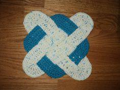 weaved hot pad-free pattern