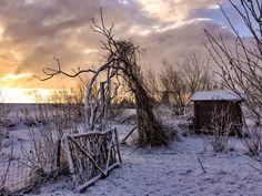 Texels noorden in de sneeuw - TEXEL