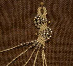 Macramè bracelet - Браслет в технике макраме   biser.info - всё о бисере и бисерном творчестве