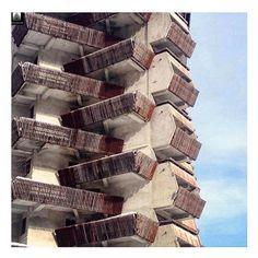 Hotel Amanauz in Dombay - Russia #brutalarchitecture