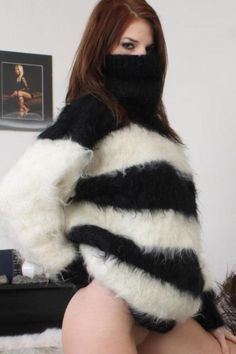 sweater-fetish-fantasy:  Devilla Sweater Sundays