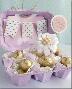 Decoupage per decorare le uova di pasqua