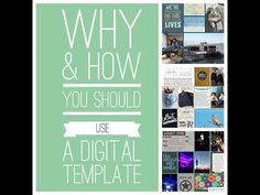 Part 3 in a series by Katie the Scrapbook Lady about how and why to use digital scrapbooking templates. This segment focuses on making the templates work for...